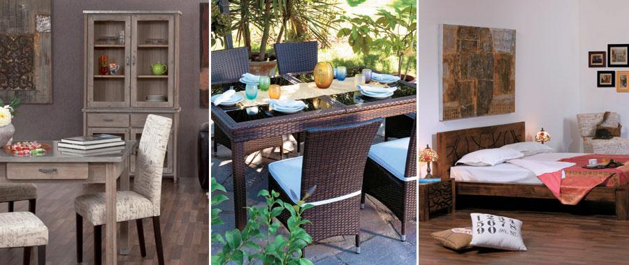 Agora mobili etnici arredamento giardino importazione for Arredo giardino torino